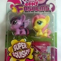 My Little Pony Fash'ems Fluttershy & Princess Twilight with Carrying Case