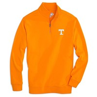 University of Tennessee Gameday Skipjack 1/4 Zip Pullover in Orange by Southern Tide
