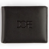Dope Logo Wallet Black One Size For Men 24768810001