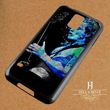 Angus Young Digital Art Samsung Galaxy S3 S4 S5 S6 S6 Edge Case | Galaxy Note 3 4 Case