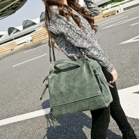 Bags Matte Korean One Shoulder Messenger Bags [6582767879]