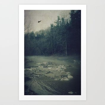 Darkness Prevails Art Print by Faded  Photos