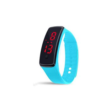 Brand Casual Outdoor Silicone Girl Women Watches Fashion Red LED Digital Sports Bracelet clock Men 11 Colors Wristwatch relogio