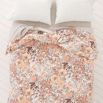 Plum & Bow Mila Allover Floral Duvet Snooze Set - Urban Outfitters