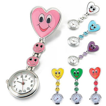 A Nurse's Heart Is Always Smiling Fob Watch