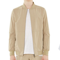 AfterGlow Bomber Jacket In Camel
