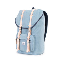 Herschel Supply Co.: Little America Backpack - Denim 12oz Cotton Canvas