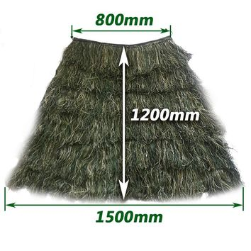 Men's Outdoor Hunting Ghillie Suit Ghillie Clothes Men Camouflage Hunting Gilley Suit Outdoor Jungle Forest Hunting Cloak Men