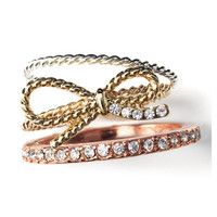 Great Ring Tones Delicate Stackable Rings - Avon mark