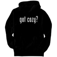 Amazon.com: Got cozy? Adjectives Mens Hoodie (Black, Sizes X-Small - XXX-Large): Clothing