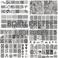 BORN PRETTY Nail Art Stamp Template Image Stamping Plate DIY Manicure BP-L 1-45