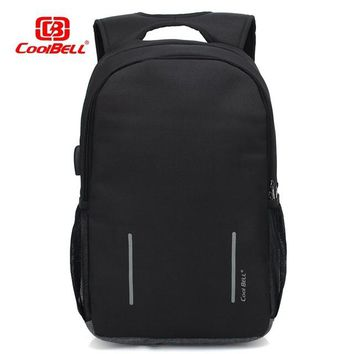 "Cool Backpack school Cool Bell NEW Laptop Backpack for 15.6"" 17.3"" notebook computer bag Business Casual Study bag  shipping AT_52_3"