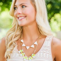 Lime In The Coconut Necklace-Opal - NEW ARRIVALS