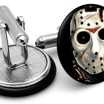 Jason Vorhees Cufflinks