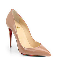 Christian Louboutin - Pigalle Patent Leather Pumps - Saks Fifth Avenue Mobile