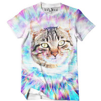 Hippie Cat Men's Tee