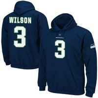Russell Wilson Seattle Seahawks Eligible Receiver Hoodie - College Navy