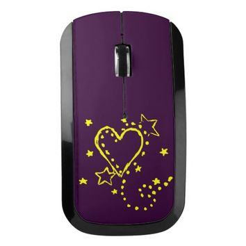 Heart Drawing Wireless Mouse