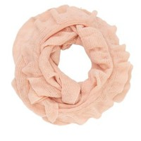Infinity Ruffle Scarf by Charlotte Russe - Lt
