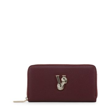 Versace Jeans Red Synthetic Leather Purse