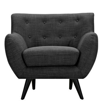 Ida Armchair Charcoal Gray