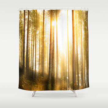 i have seen things... Shower Curtain by HappyMelvin