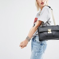 Love Moschino | Love Moschino Textured Shoulder Bag at ASOS