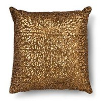 All Over Sequin Decorative Pillow - Bronze (Square) - Xhilaration™