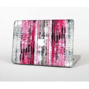 The Vintage Worn Pink Paint Skin Set for the Apple MacBook Air 11""