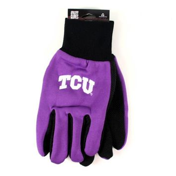 TCU Horned Frogs - Adult Two-Tone Sport Utility Gloves