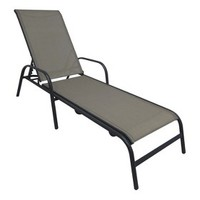 RE Sling Stack Lounger Tan