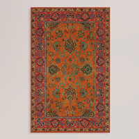 Mandarin Agra Wool Rug - World Market