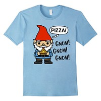 Cute Funny Gnome TShirt For Pizza Lover Foodie Gnom Gnom