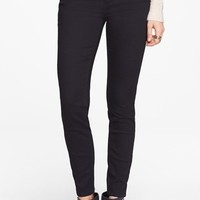 Jolt High Waist Skinny Jeans (Black) (Juniors)