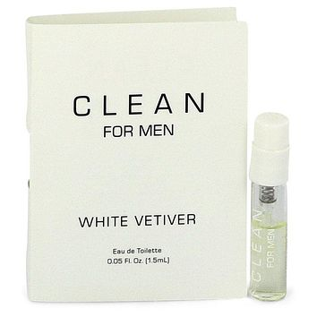 Clean White Vetiver by Clean Vial (sample) .05 oz  for Men