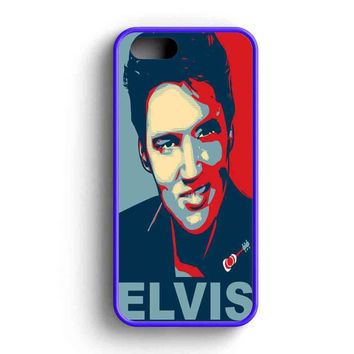 Elvis Presley Painting Art  iPhone 5 Case iPhone 5s Case iPhone 5c Case