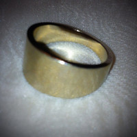 Trendy vintage Gold tone Ring Old store stock available in sizes