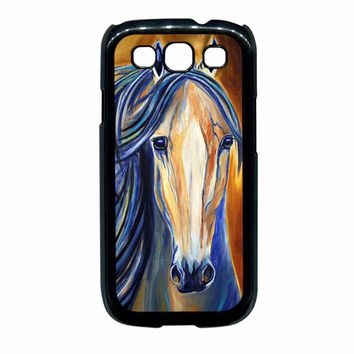 Horse Vintage Painting Samsung Galaxy S3 Case
