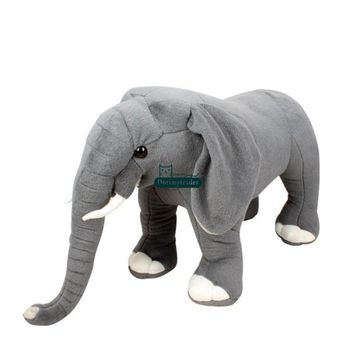 Elephant Giant Stuffed Animal Plush Toy 34""