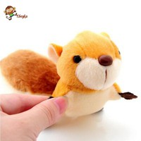 Cute Squirrel Plush nano doll Bag pendant kids Girl Student love Fashion Dolls Plush Toy Soft toy Birthday gift juguetes