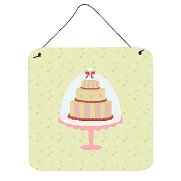 Decorated Cake on Green Wall or Door Hanging Prints BB7305DS66