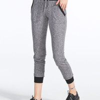 French Terry Womens Jogger Pants Grey  In Sizes
