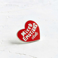 Tuesday Bassen Mixed Emotions Club Pin - Urban Outfitters