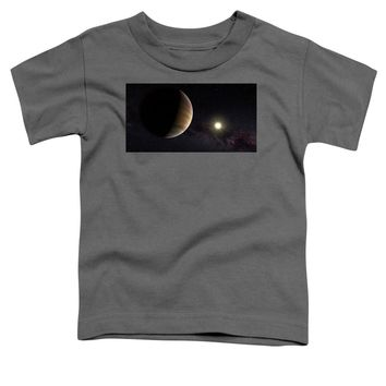 Solar System Watercolor Series No 1a - Toddler T-Shirt
