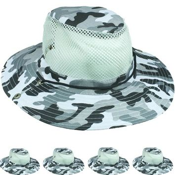 Camouflage Mesh Hat - CASE OF 72