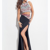 Two Piece Rachel Allan Prom Dress 7086