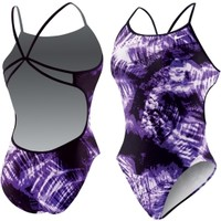 Nike Women's Solar Canopy Modern Cut-Out Tank Swimsuit - Dick's Sporting Goods
