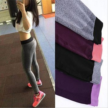 S-XL 4 Colors Women's Leggings For Adventure Time Bodybuilding Workout Clothing Quick Drying Elastic Leggings Women 5A