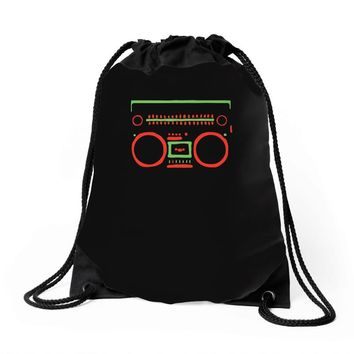 a tribe called quest   speaker hip hop the cutting edge Drawstring Bags