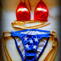 Wonder Woman PVC Bikini